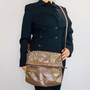 Braciano Hobo Shoulder Bag Faux Foldable Crossbody